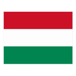 Cartão da bandeira de Hungria