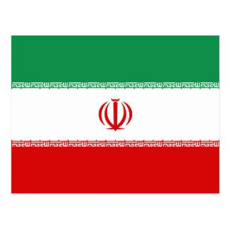 Cartão da bandeira de Irã