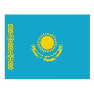 Cartão da bandeira de Kazakhstan