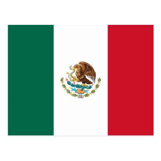 Cartão da bandeira de México