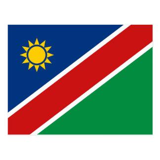 Cartão da bandeira de Namíbia