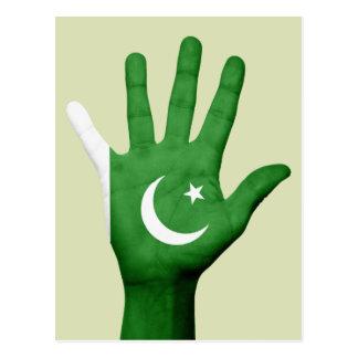 Cartão da bandeira de Paquistão