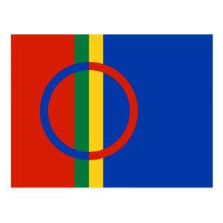 Cartão da bandeira de Sami