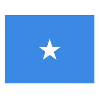 Cartão da bandeira de Somália