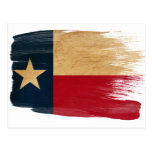 Cartão da bandeira de Texas Cartões Postais