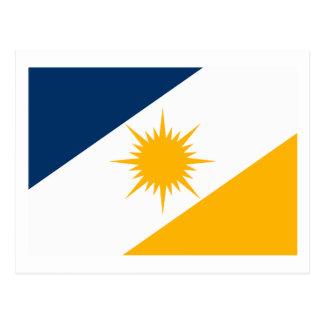 Cartão da bandeira de Tocantins