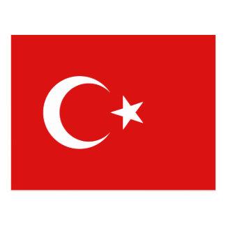 Cartão da bandeira de Turquia