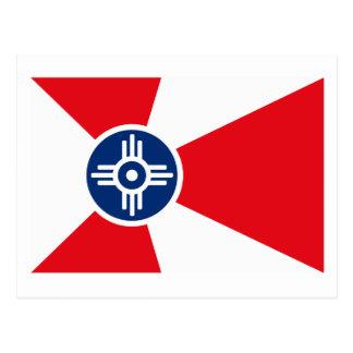 Cartão da bandeira de Wichita