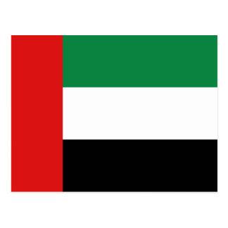 Cartão da bandeira dos UAE