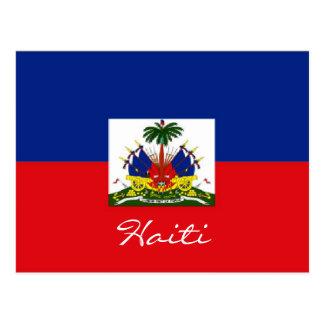 Cartão da bandeira nacional de Haiti