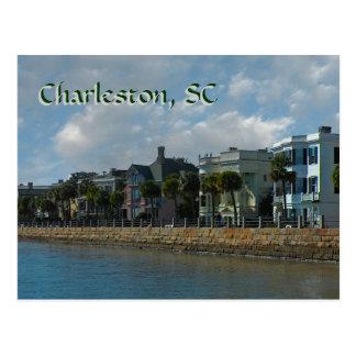 Cartão da bateria de Charleston Cartão Postal