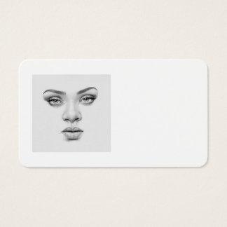 Cartão da Beleza-Cara