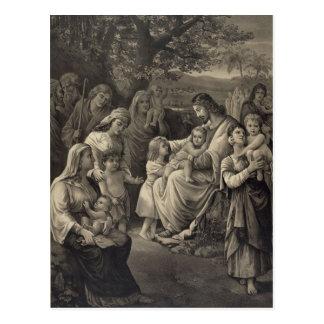 Cartão da bênção de Jesus