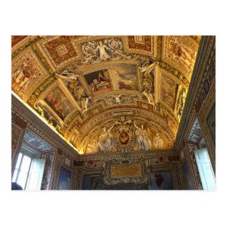 Cartão da biblioteca da Cidade do Vaticano