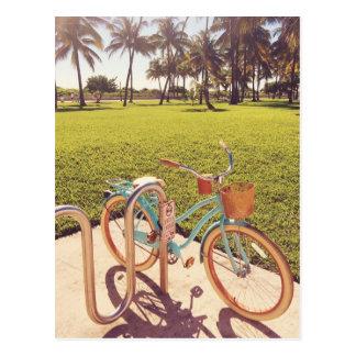 Cartão da bicicleta de Miami