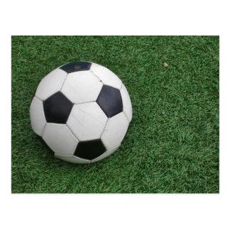 Cartão da bola de futebol H
