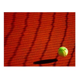 Cartão da bola de tênis