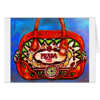 Cartão da bolsa da bolsa do desenhista