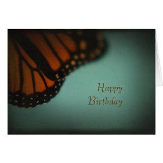 Cartão da borboleta