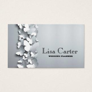 Cartão da borboleta do salão de beleza do