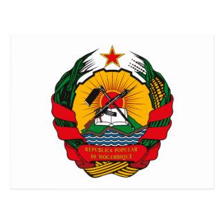 Cartão da brasão de Mozambique