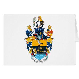 Cartão da brasão de St Helena