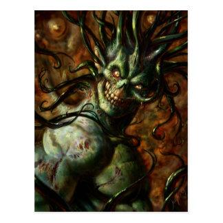 Cartão da cabeça do tentáculo de Skully