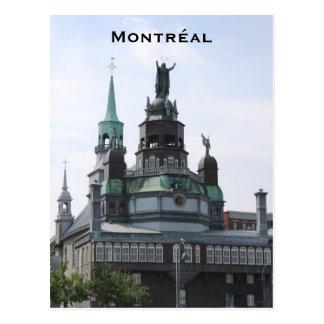 Cartão da capela de Montreal