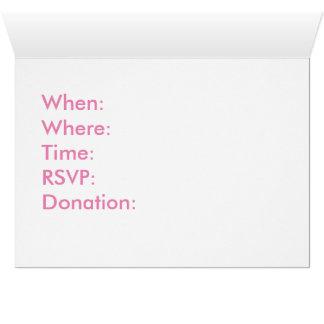 Cartão da caridade da consciência