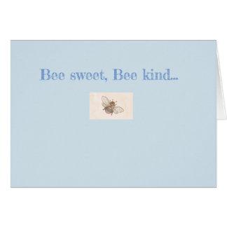 """Cartão Da """"cartão de nota de viagem doce da marca do pote"""
