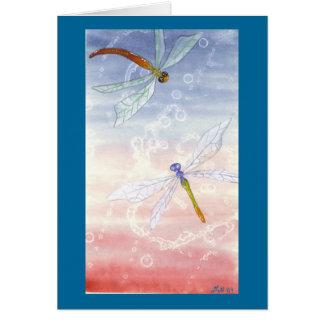 """Cartão Da """"cartão dos dragões dança"""""""
