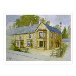 Cartão da casa de Bourton