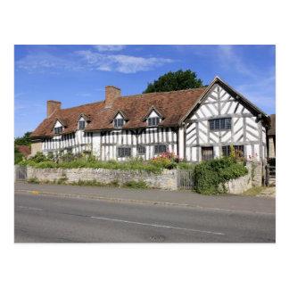 Cartão da casa de Tudor de Mary Arden