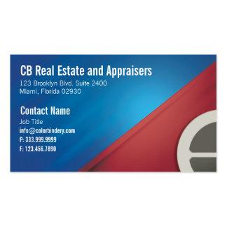 Cartão da casa e de negócio caseiro cartão de visita