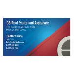 Cartão da casa e de negócio caseiro modelo cartão de visita