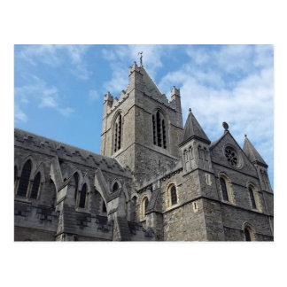 Cartão da catedral da igreja do cristo de Dublin
