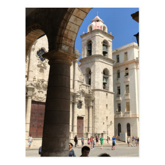 Cartão da catedral de Havana, Havana, Cuba