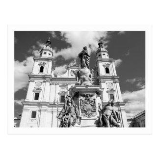 Cartão da catedral de Salzburg