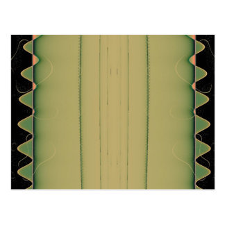 Cartão da cauda do jacaré