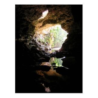 Cartão da caverna de Rio Frio