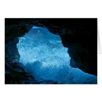 Cartão da caverna do bastão