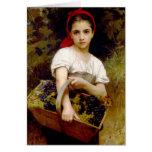 Cartão da ceifeira de Bouguereau