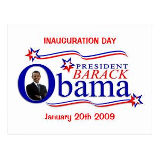 Cartão da celebração do dia de inauguração de