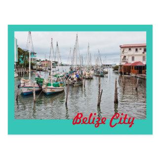 Cartão da cidade de Belize