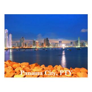 Cartão da Cidade do Panamá, Panamá