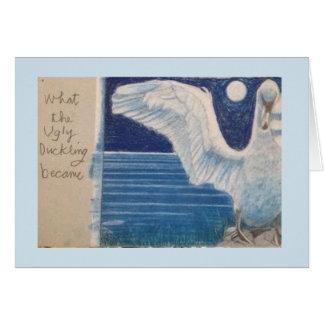 Cartão da cisne