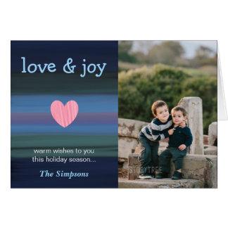 Cartão da coleção do feriado do amor