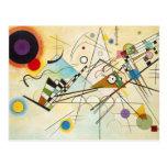 Cartão da composição VIII de Kandinsky Cartao Postal