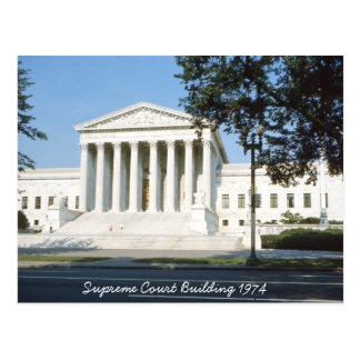 Cartão da construção da corte suprema