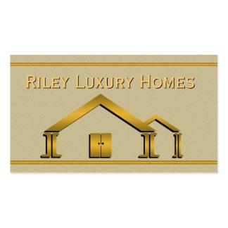 Cartão da construção de casas & de indústria da cartão de visita
